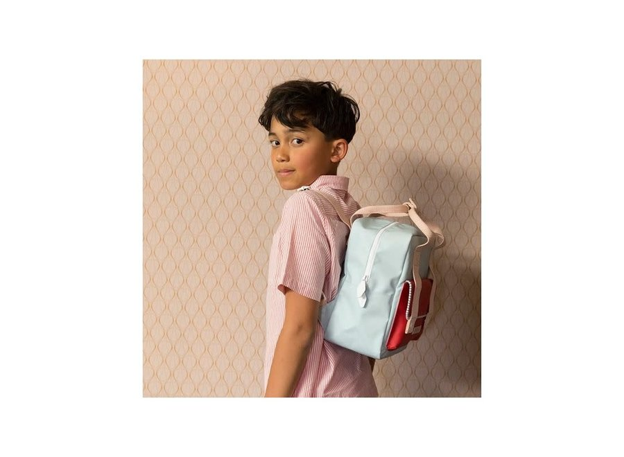 Small Backpack Envelope Deluxe | Agatha Blue