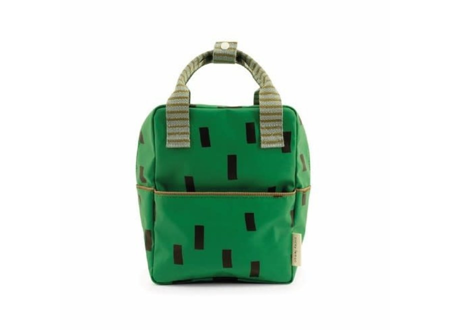 Small Backpack Sprinkles | Special Edition | Apple Green + Steel Blue