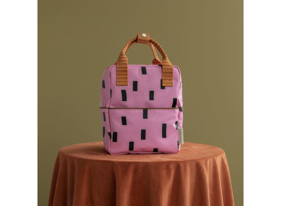 Small Backpack Sprinkles | Special Edition | Bubbly Pink & Carrot Orange
