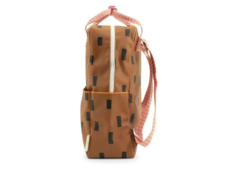 Large Backpack Sprinkles | Special Edition | Syrup Brown + Bubble Pink