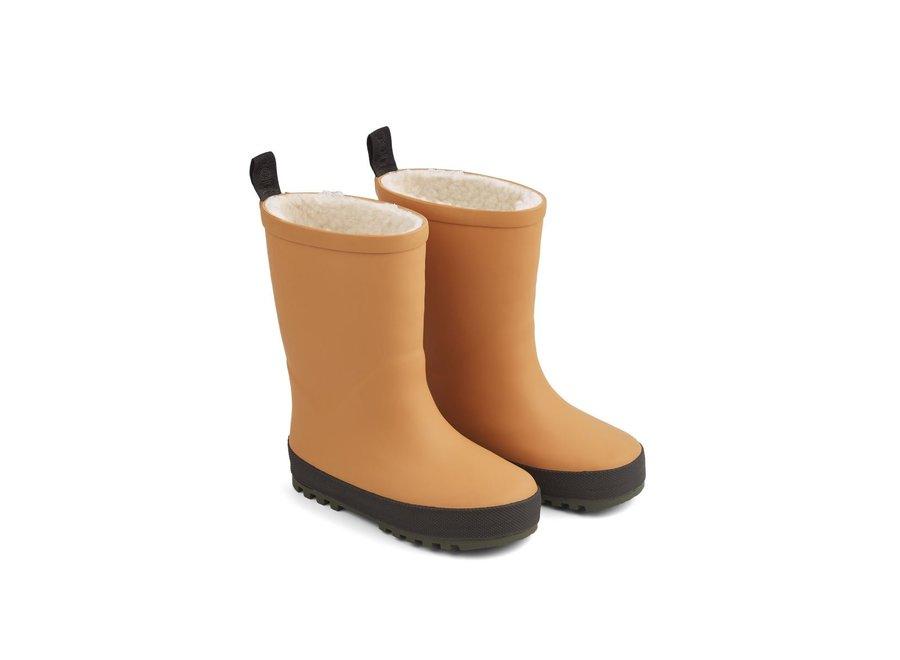 Mason Thermo Rainboot Mustard/Black Mix