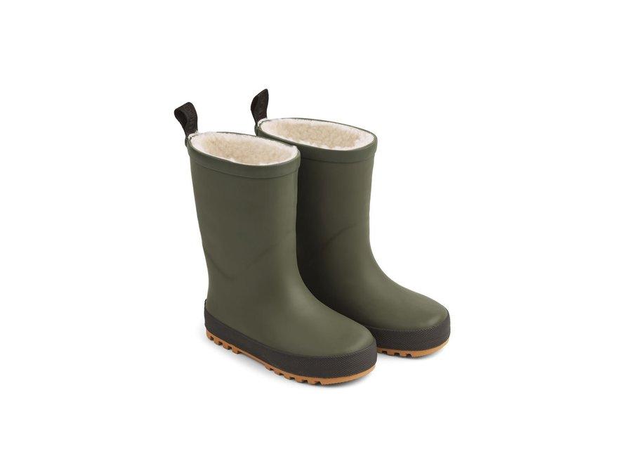Mason Thermo Rainboot Green/Black Mix