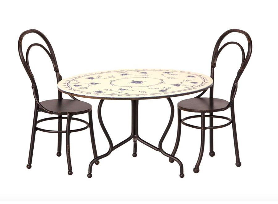 Dining Table Set With 2 Chairs