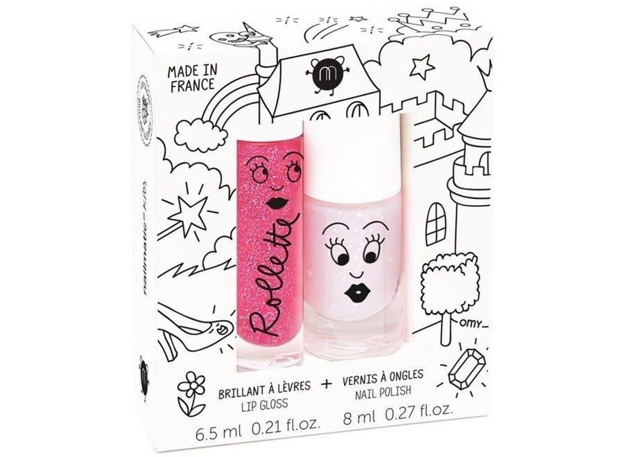 Set Lip Gloss & Nailpolish Fairytales