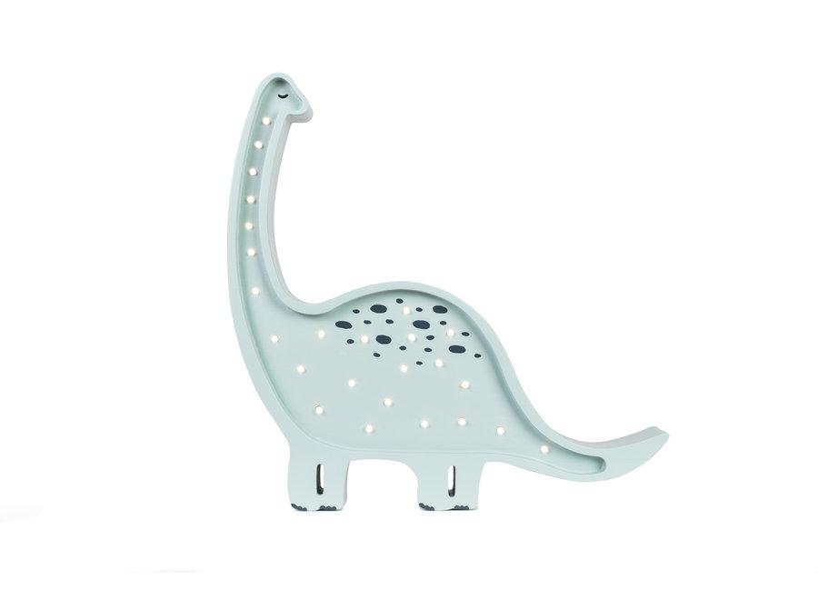 Lamp Dino Diplodocus Blue