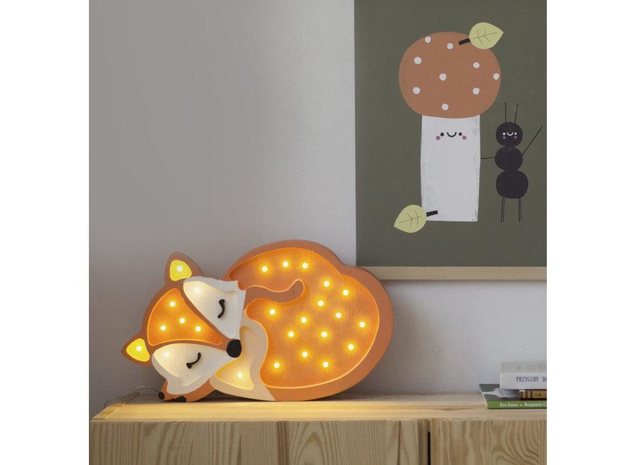 Lamp Fox Orange