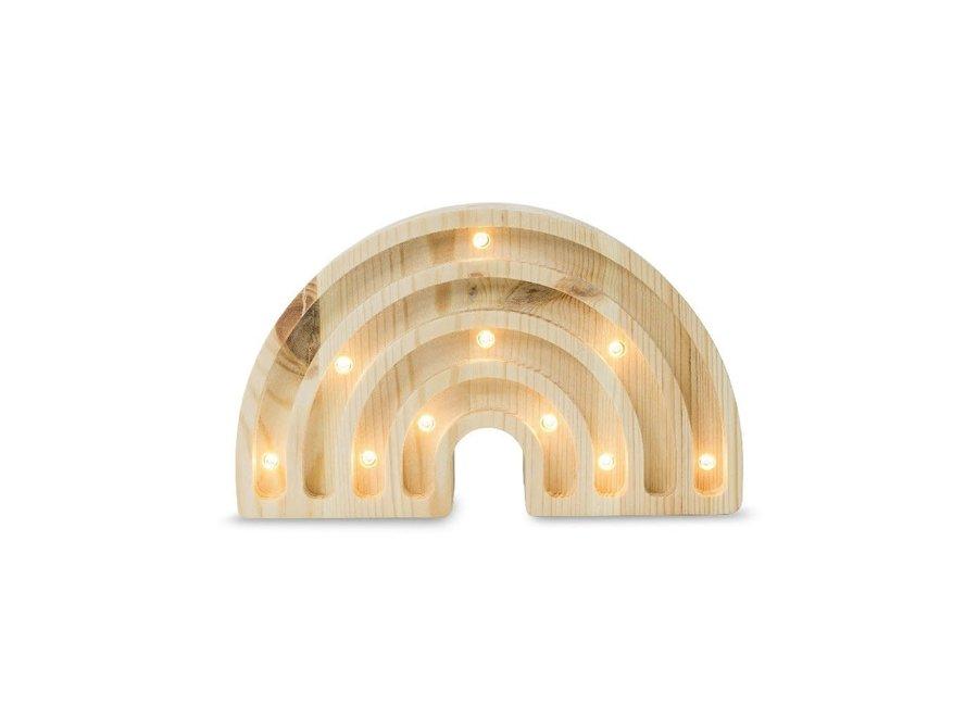 Lamp Rainbow Mini Wood