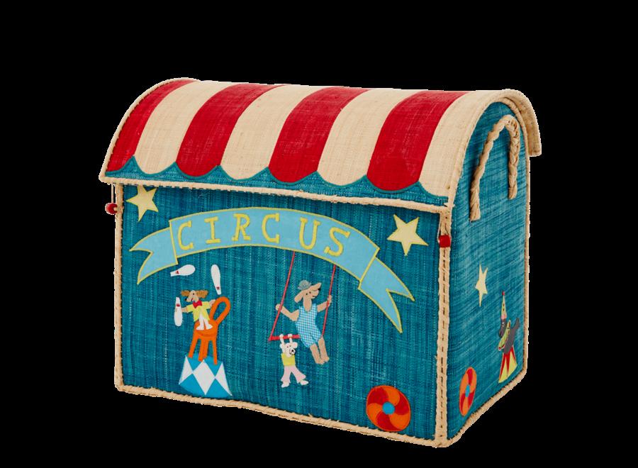 Raffia Basket Circus Large