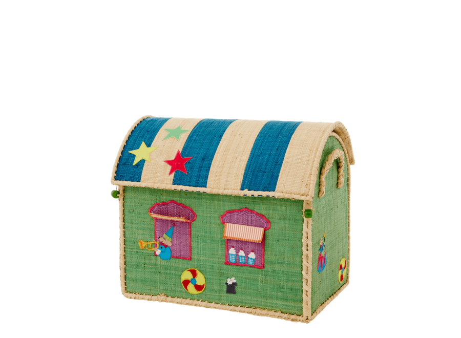 Raffia Basket Circus Small