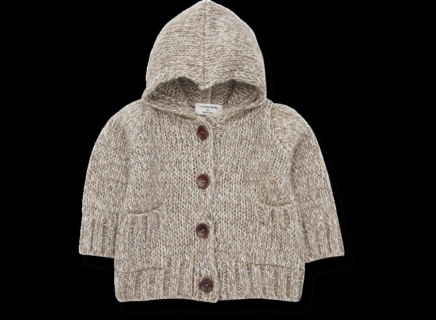 Jacket Dom Hood Beige