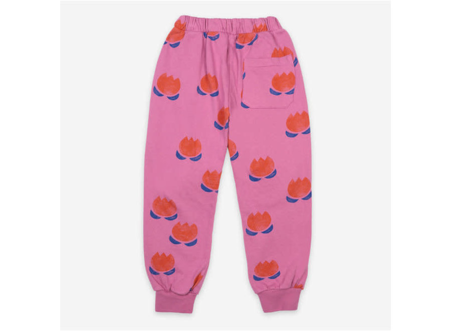 Bobo Choses Jogging Pants Chocolate Flowers