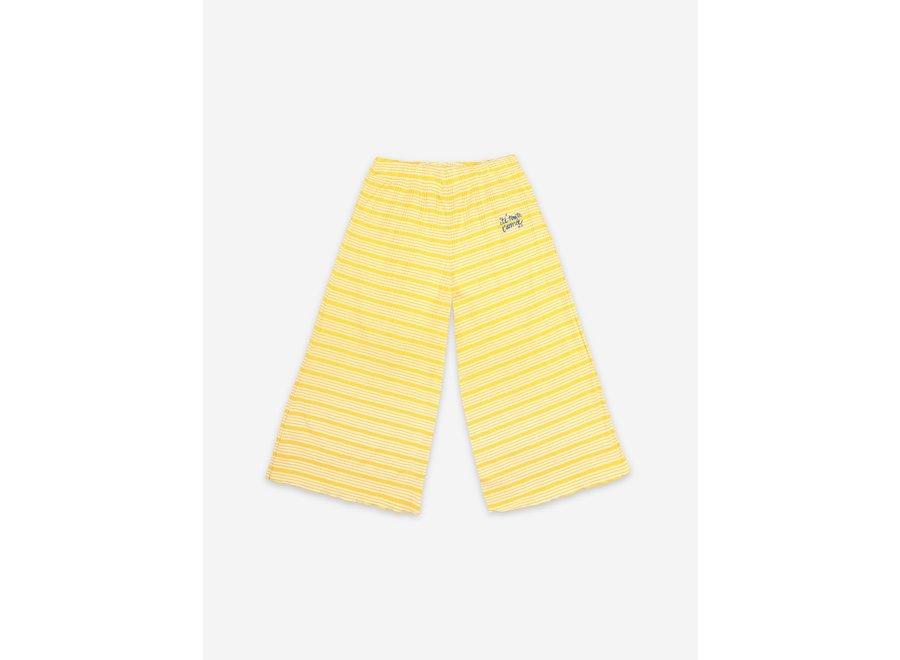 Culotte Trousers Striped