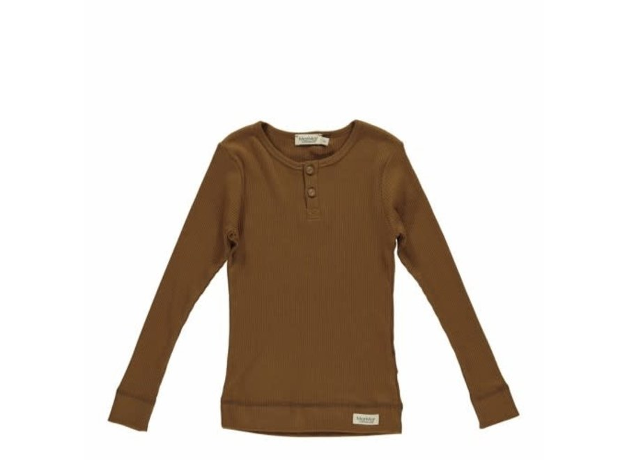T-Shirt LS Leather