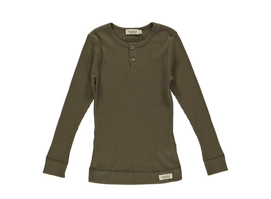 T-Shirt LS Loden