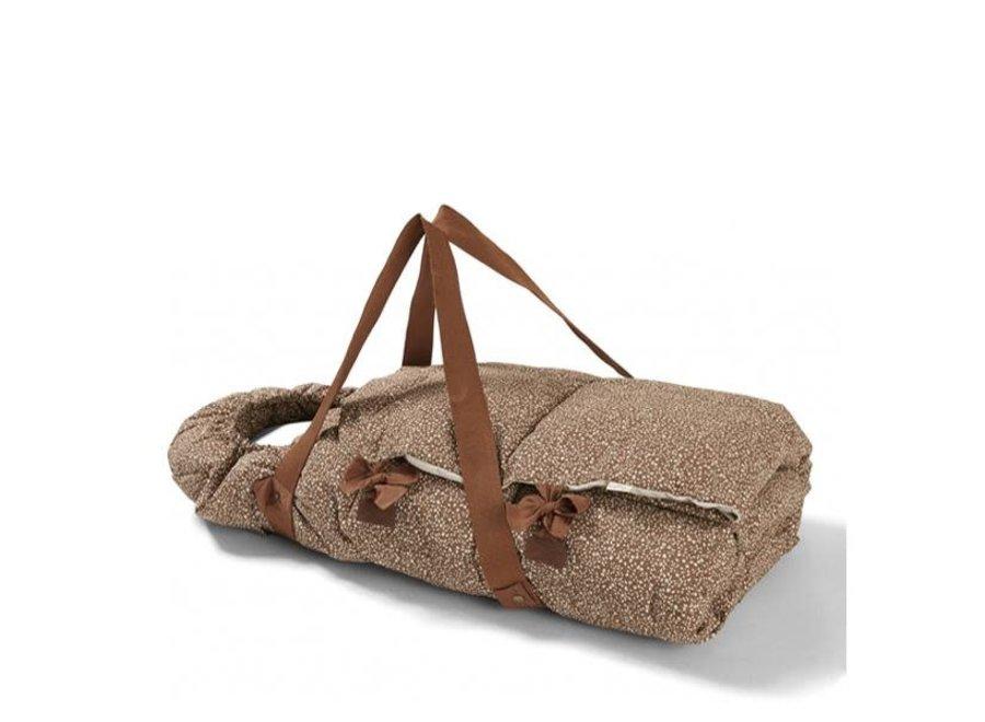 Konges Sløjd Nemuri Sleeping Bag – Blossom Mist Caramel