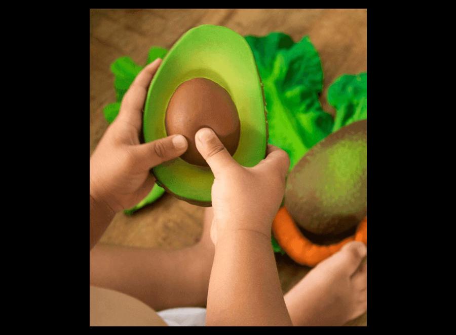 Oli & Carol Bijtspeeltje Arnold The Avocado.