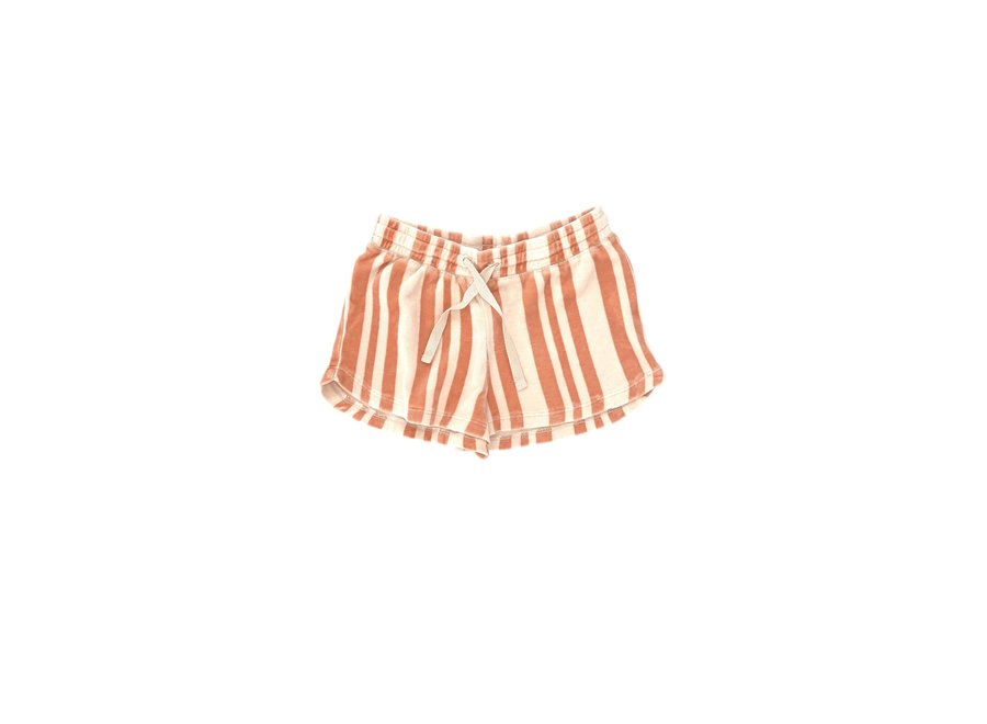 Long Live The Queen Shorts Orange Stripe