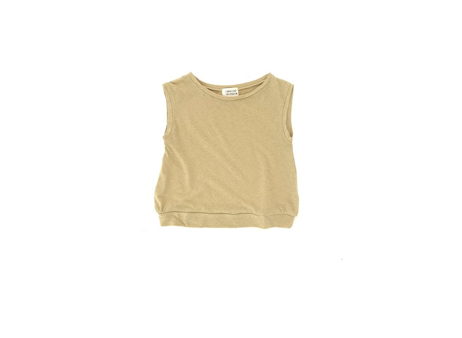 Long Live The Queen Sleeveless Tee Sage