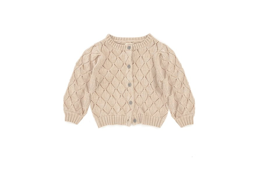 Long Live The Queen Ajour Cardigan Natural