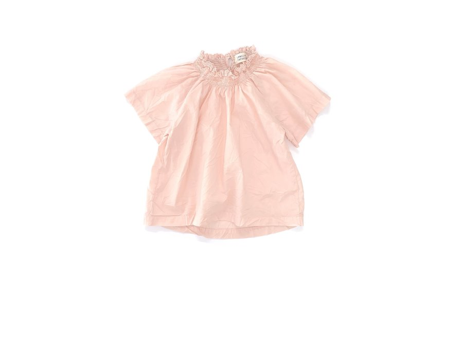 Long Live The Queen Smock Blouse Blush