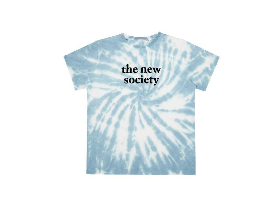 The New Society Tee Blue