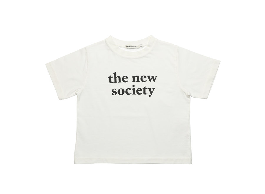 The New Society Tee Off White