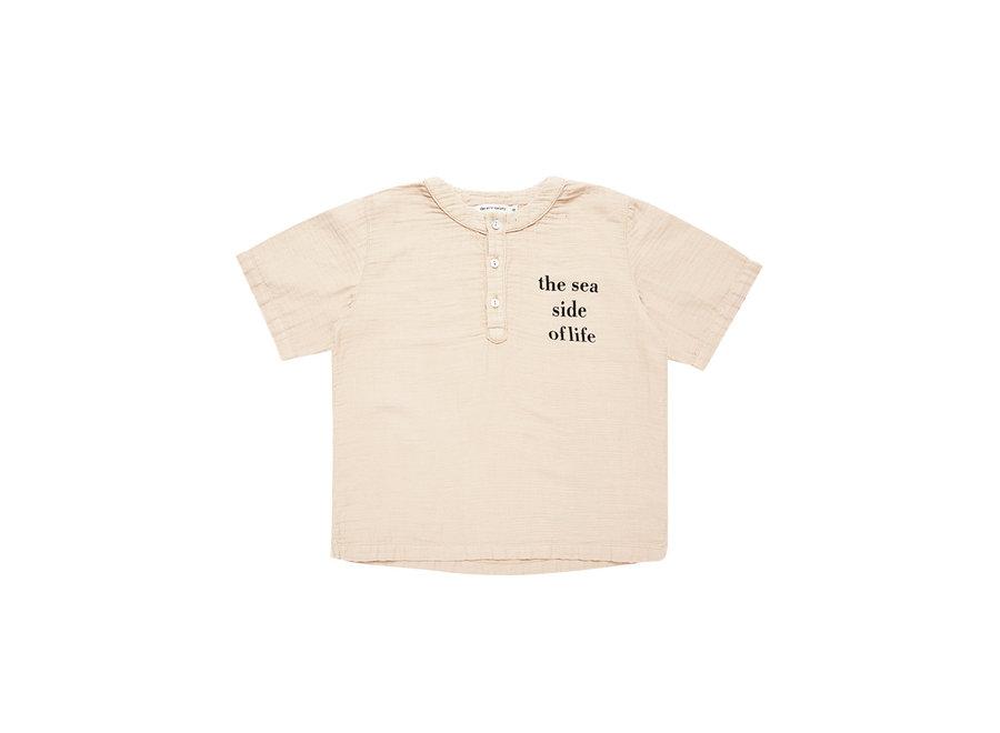 The New Society Bob Shirt Natural