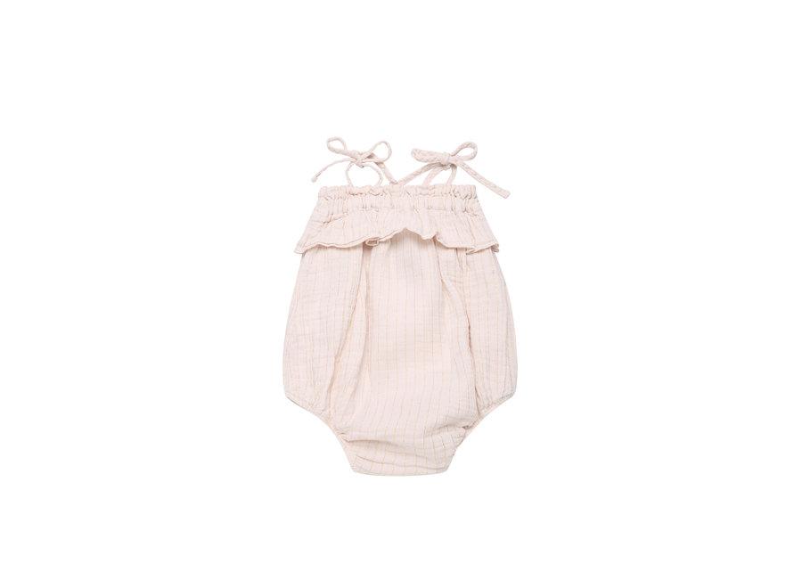 Claire Baby Romper Blush