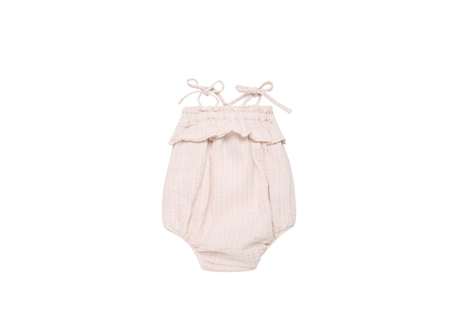 The New Society Claire Baby Romper Blush
