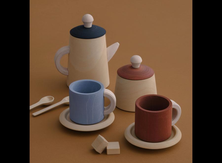 Raduga Grëz Tea Set Terra & Blue