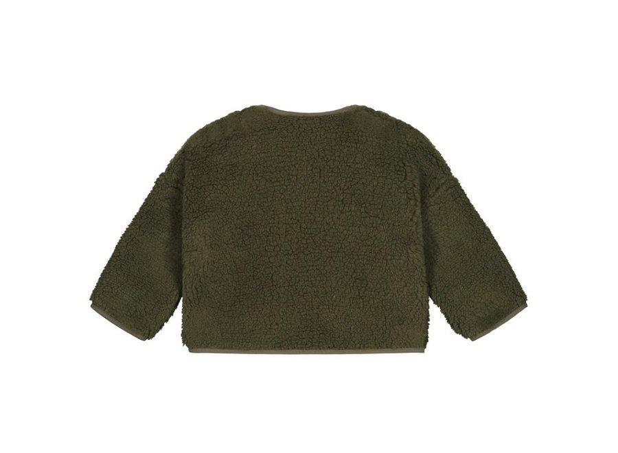 Teddy oversized Sweater Green