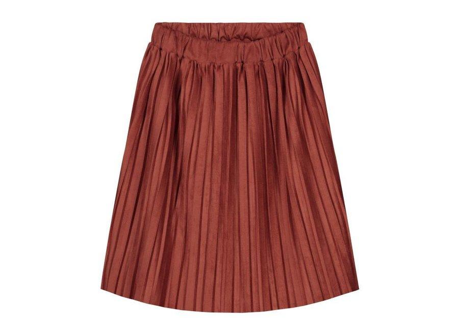 Donna Plisse Skirt Rustic