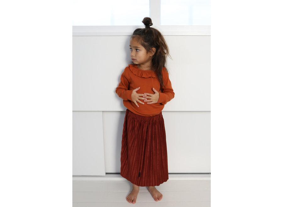 Daily Brat Donna Plisse Skirt Rustic