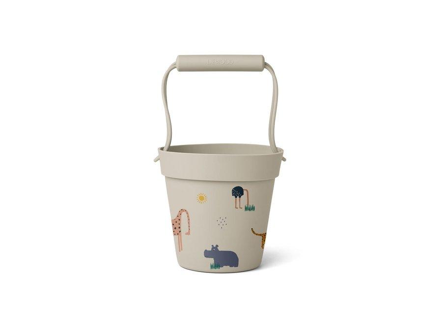 Linda Bucket Safari Sandy Mix