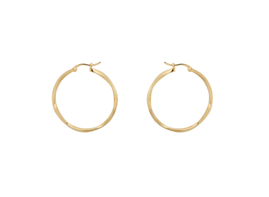 Dazzling Hoop Earrings