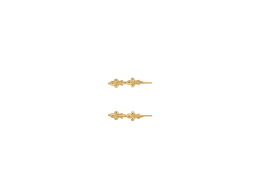 Eden Hook Earring Goldplated