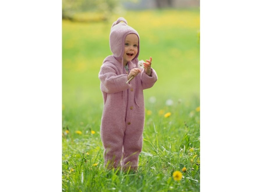 Engel Natur Hooded Overall Rosewood