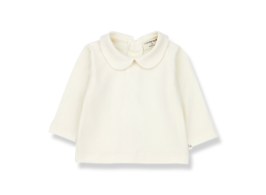 One More in the Family Colette Blouse Ecru