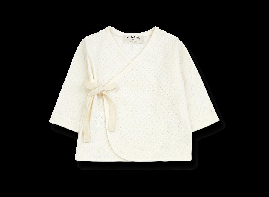 Annie Newborn T-shirt Ecru