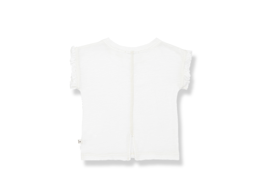 One More in the Family Mireia T-shirt Off White