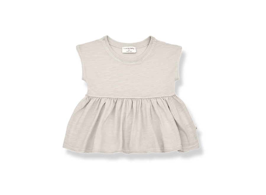 One More in the Family Sara Blouse Stone