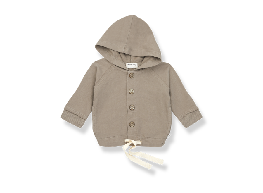 One More in the Family Otto Hood Jacket Khaki