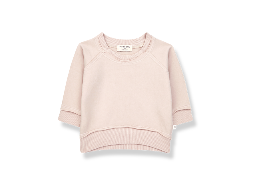 One More in the Family Tristan Sweatshirt Rose