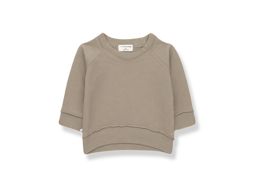 One More in the Family Tristan Sweatshirt Khaki