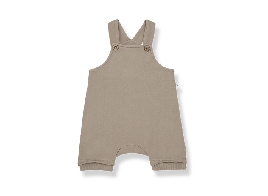 One More in the Family Ilai Short Overall Khaki