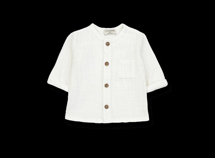 Mauri Longsleeve Shirt Off White