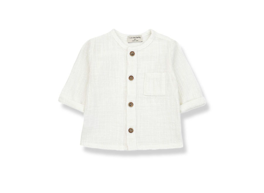 One More in the Family Mauri Longsleeve Shirt Off White