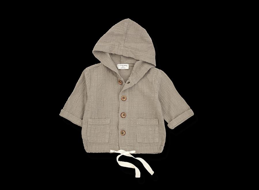 Yago Hood Jacket Khaki