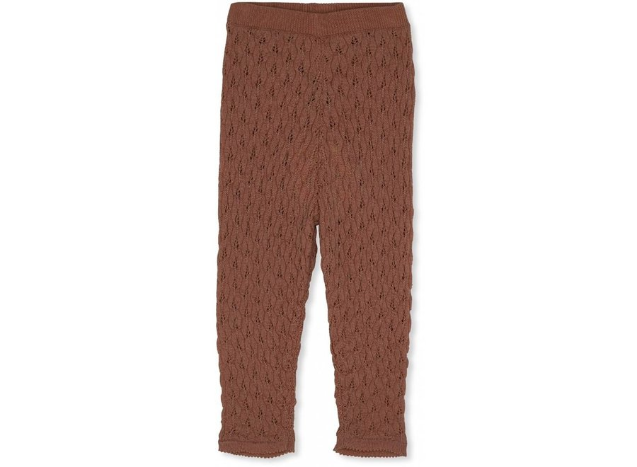Bremer Pants Pointelle Toffee