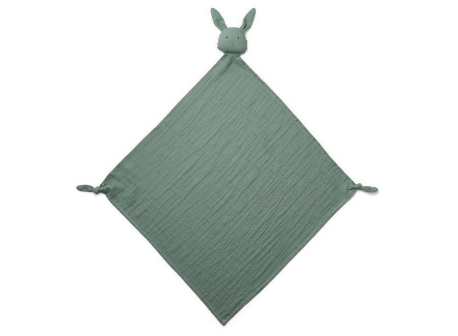 Robbie Muslin Cloth Rabbit Peppermint